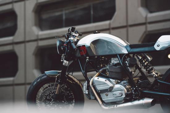 """""""Hắc Mã"""" Ducati 860 Café Racer hí vang sau giấc ngủ dài-ảnh10"""