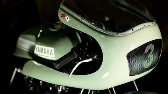 Yamaha XJR1300 café racerA2