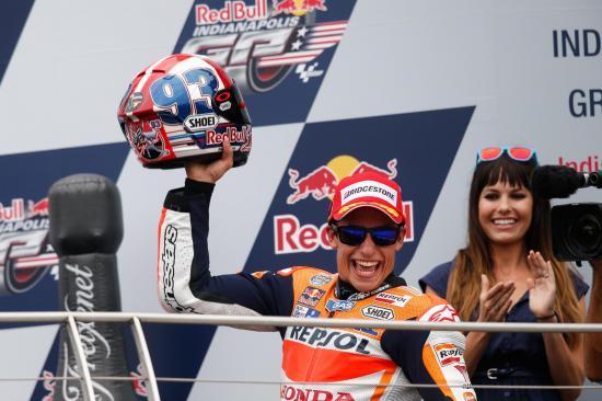 MotoGP 2015: Chiến thắng thứ ba trong mùa giải của Marquez