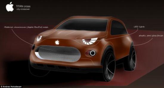 xe tự lái Apple5
