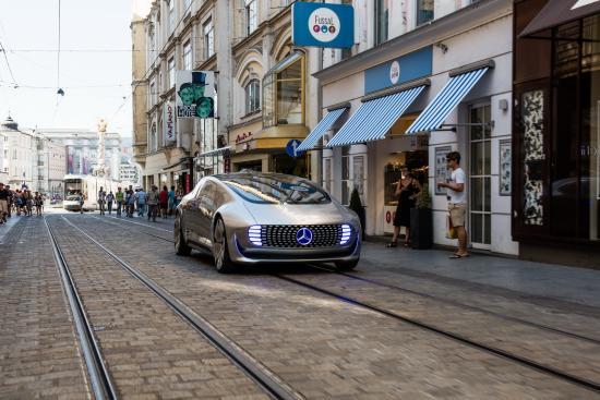 xe điện Mercedes 1
