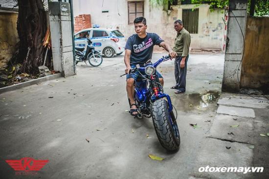 """Honda Cub siêu """"dị"""" của xưởng độ Hà Thành-anh11"""