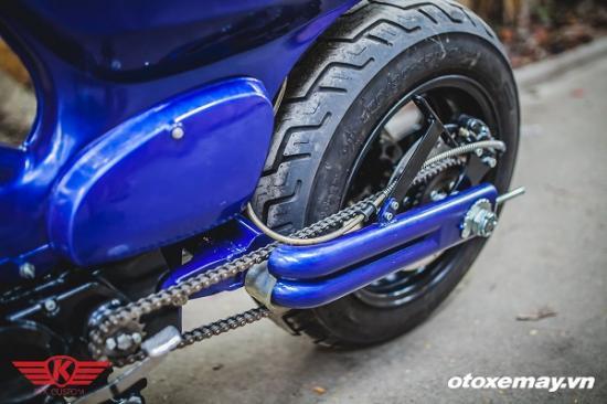 """Honda Cub siêu """"dị"""" của xưởng độ Hà Thành 5"""