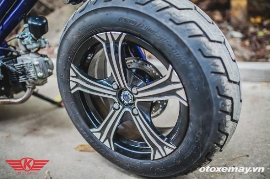 """Honda Cub siêu """"dị"""" của xưởng độ Hà Thành 9"""
