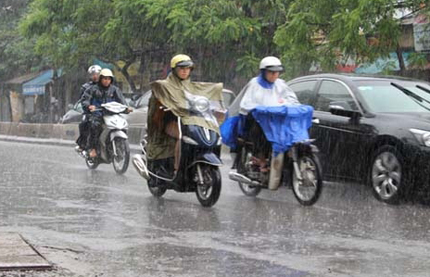 lái xe trời mưa 2