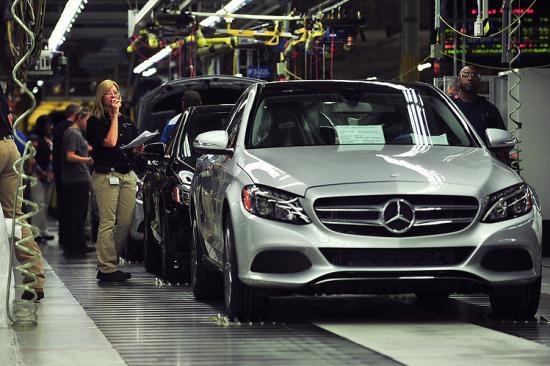 nhà máy Daimler