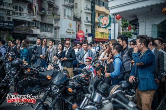 Distinguished Gentleman's Ride Hà Nội 2