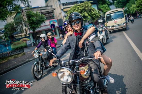 Distinguished Gentleman's Ride Hà Nội 14