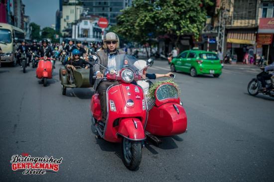 Distinguished Gentleman's Ride Hà Nội 16