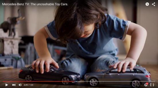 Mercedes quảng cáo