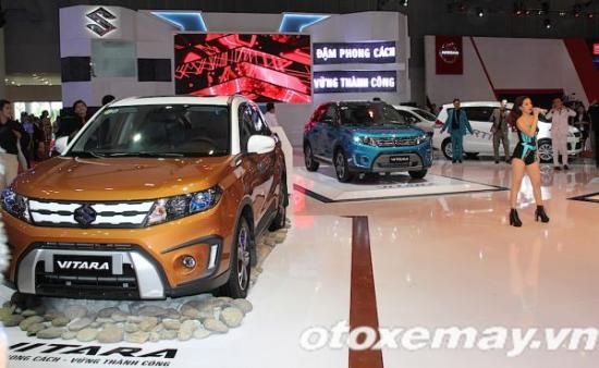 triển lãm ô tô việt nam 2015 (Vms 2015)- Xe Suzuki Viatara - ảnh 1