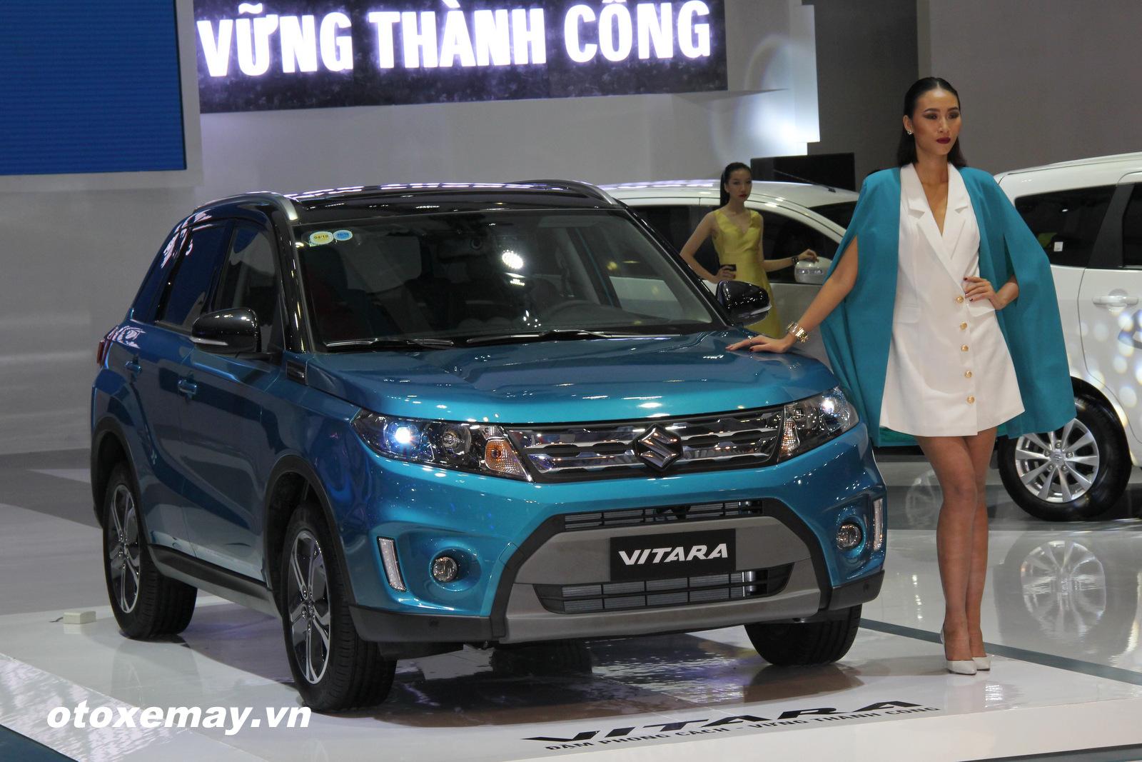 triển lãm ô tô việt nam 2015 (Vms 2015)- Xe Suzuki Viatara - ảnh 2