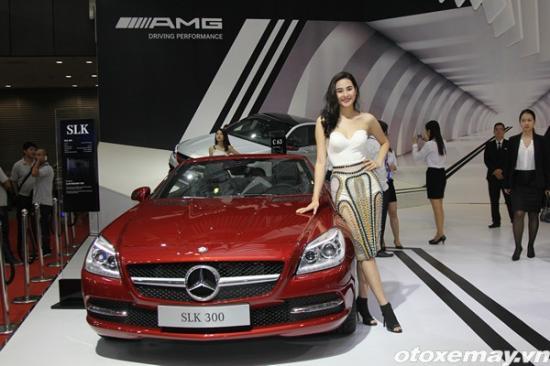 Loạt xe mới của Mercedes-benz tại VMS 2015  A1