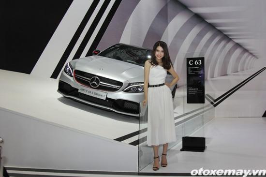 Loạt xe mới của Mercedes-benz tại VMS 2015 A3