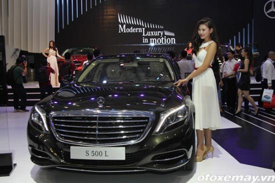 Loạt xe mới của Mercedes-benz tại VMS 2015 A5