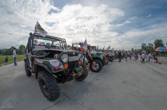 Đua xe ô tô RFC Việt Nam 2015 1