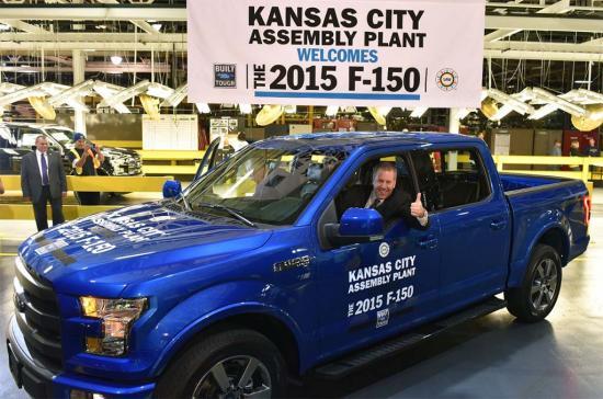 xe Ford F-150 dùng động cơ Ecoboost