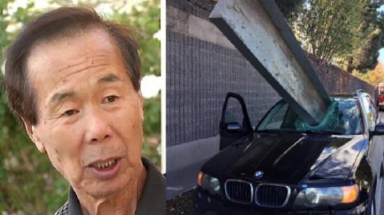 Tài xế xe BMW thoát chết thần kỳ trong pha đâm xuyên thót tim