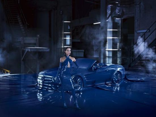 Xe Mercedes SL 3
