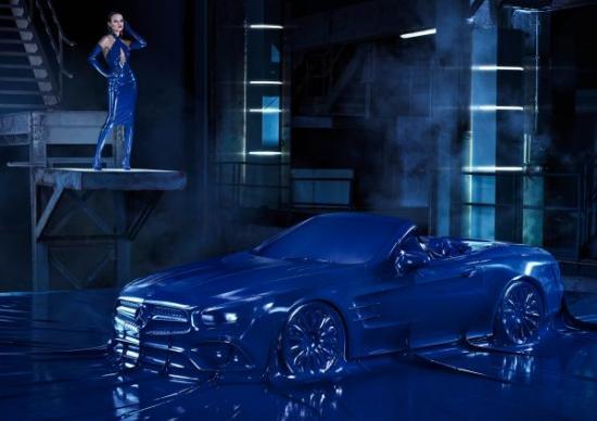 Xe Mercedes SL 4