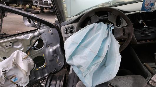ô tô lỗi túi khí