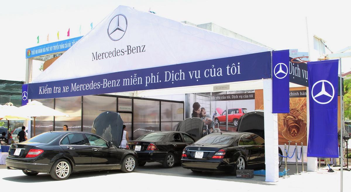 Mercedes-Benz Việt Nam ưu đãi chăm sóc cho những xe lăn bánh trên 5 năm_2
