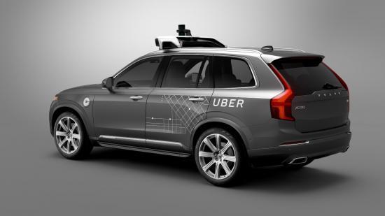 Uber Volvo phát triển xe tự lái