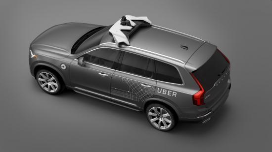 Uber Volvo phát triển xe tự lái 2