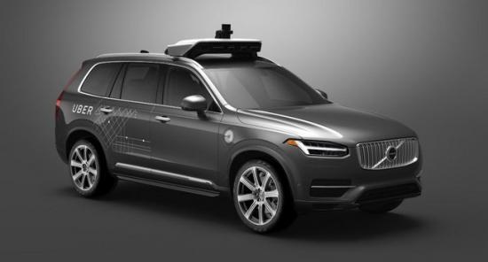 Uber Volvo phát triển xe tự lái 3