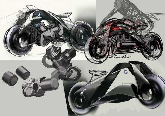 Xe BMW Vision Next 100 Bike 10