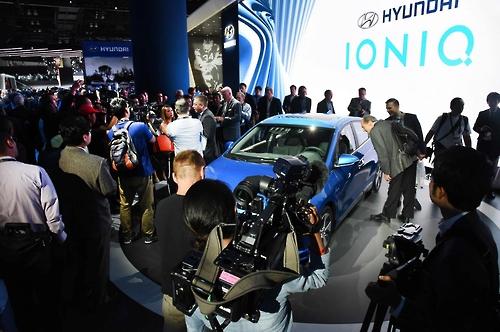 Xe tự lái Hyundai Ioniq