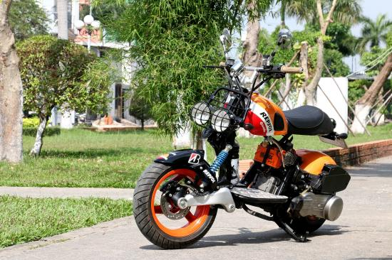 Xe độ SYM Scooter 125cc 1