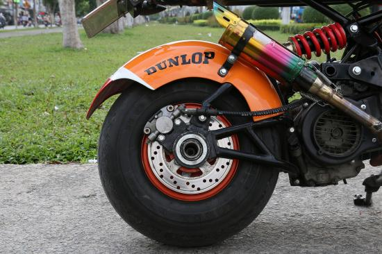 Xe độ SYM Scooter 125cc 13