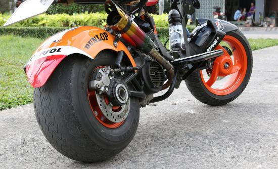Xe độ SYM Scooter 125cc 14