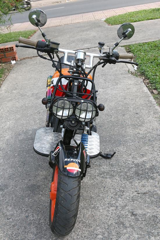 Xe độ SYM Scooter 125cc 4