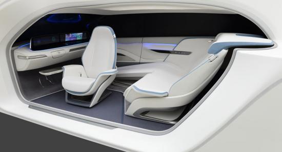 Xe Hyunda Health Mobility Cockpit