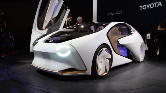 Xe Toyota Concept-i