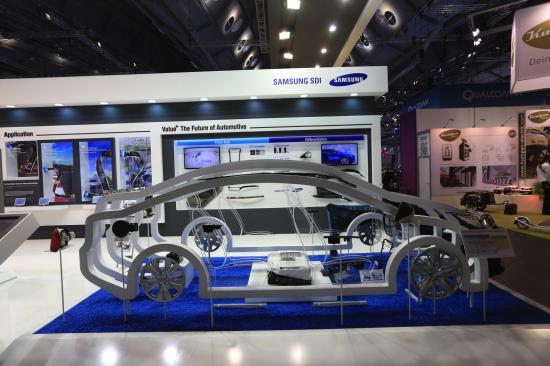 Samsung phát triển pin xe điện phạm vi 600km 1