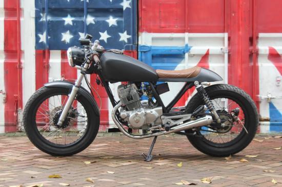 Xe độ Honda CBT125 Cafe Racer 1
