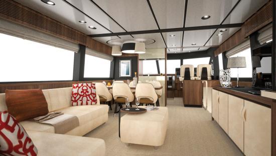 Du thuyền Azimut Magellano 66 3