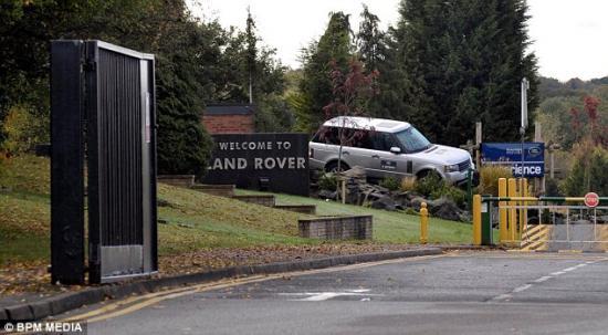 Nhà máy xe Jaguar LAnd Rover