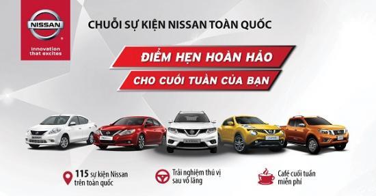 Chuỗi sự kiện lái thử xe Nissan trong tháng 3/2017