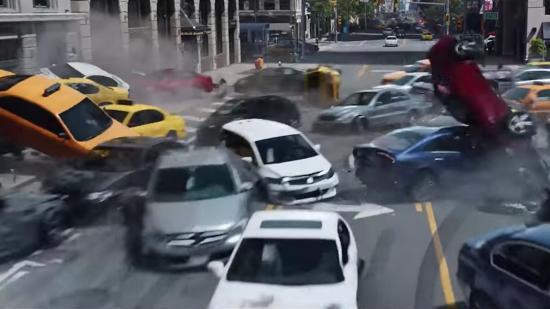 Xe tự lái trong Fast & Furious 8
