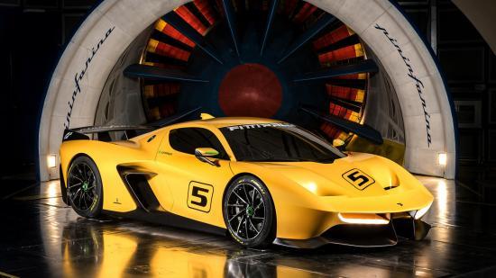Xe đua Pininfarina Fittipaldi EF7 Vision Gran Turismo