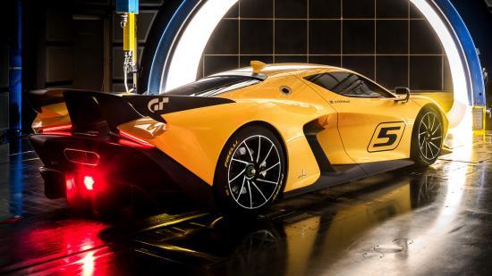 Xe đua Pininfarina Fittipaldi EF7 Vision Gran Turismo 1