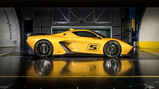 Xe đua Pininfarina Fittipaldi EF7 Vision Gran Turismo 5