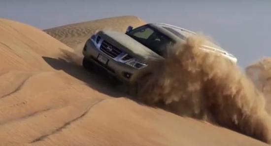 Xe SUV Nissan Patrol sức lạc đà 1