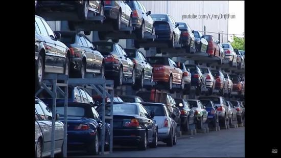 Tái chế xe sang BMW 1