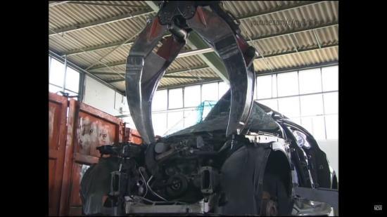 Tái chế xe sang BMW 3