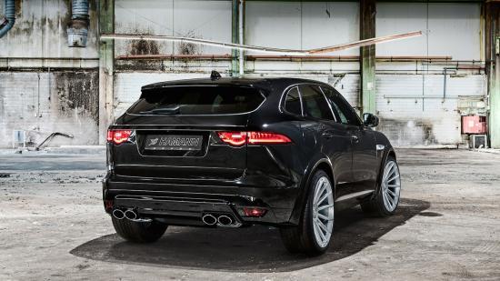 Hamann nâng cấp toàn diện xe Jaguar F-Pace 2